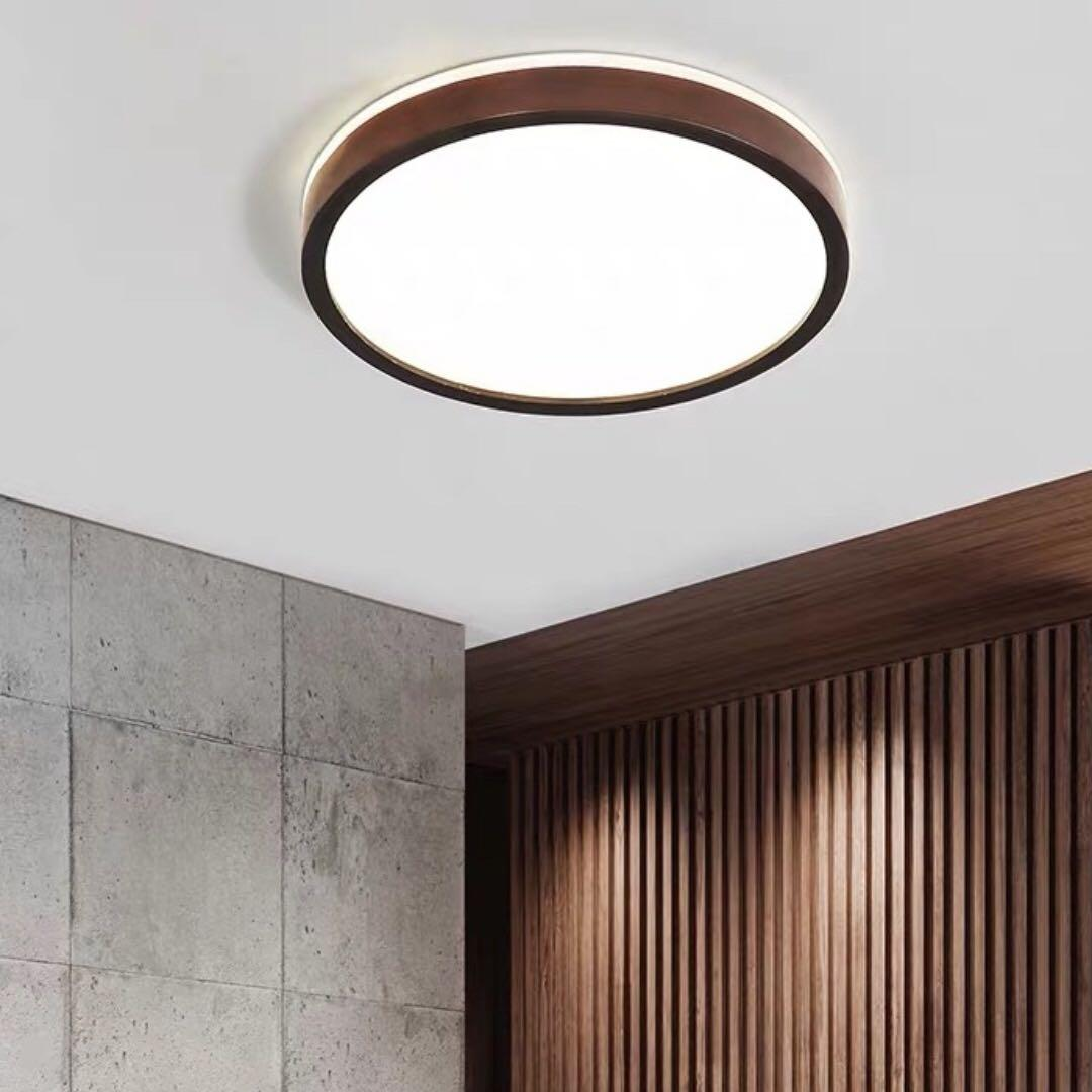 Legna II Wood Led Ceiling Light