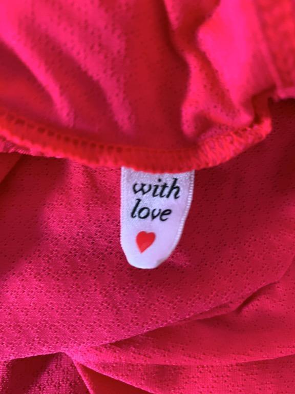 LORNA JANE Watermelon Pink Orange Stretch Fitted Activewear Tank Sz S AU 10