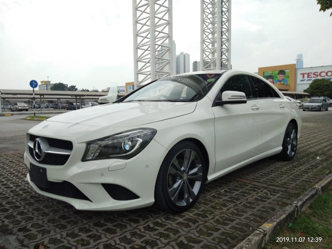 MERCEDES CLA180SE 1.6TURBO  Year:2015✔From:Japan🇯🇵✔new stock ON THR ROAD~PRICE RM148,888.88include Import Duties & sst & Processing &