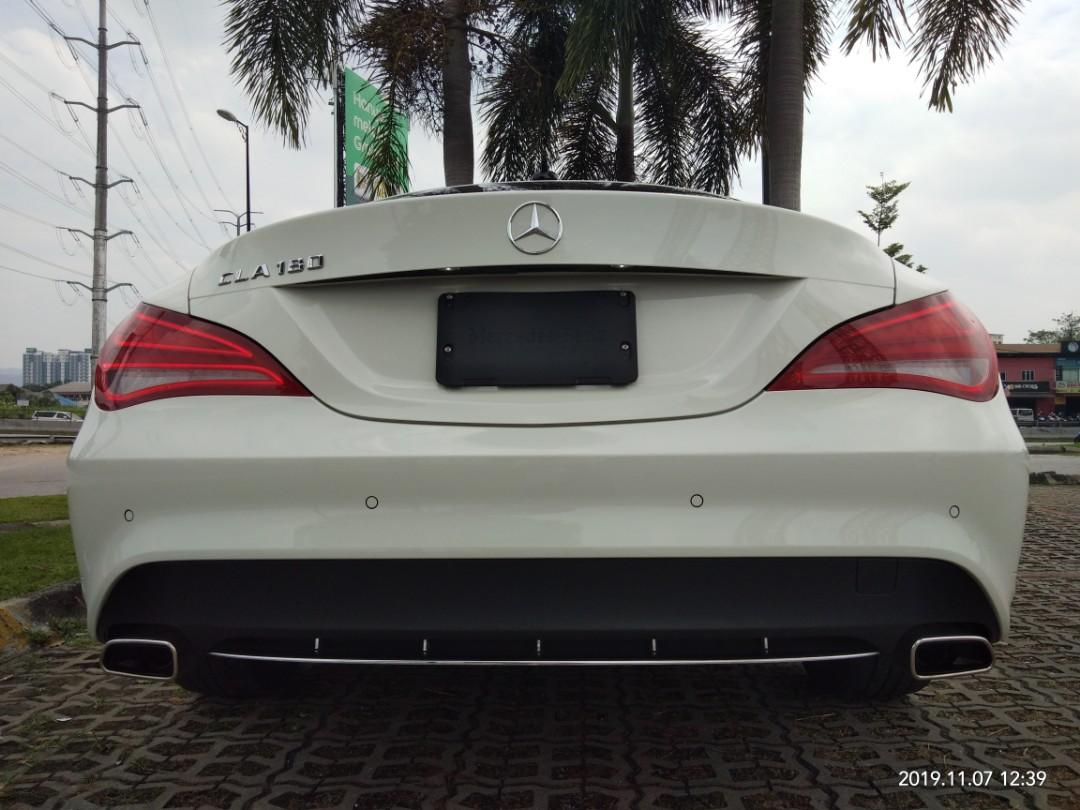 MERCEDES CLA180SE 1.6TURBO  Year:2015✔From:Japan🇯🇵✔ ON THR ROAD PRICE RM148,888.88☺HP0122367272☺🙏