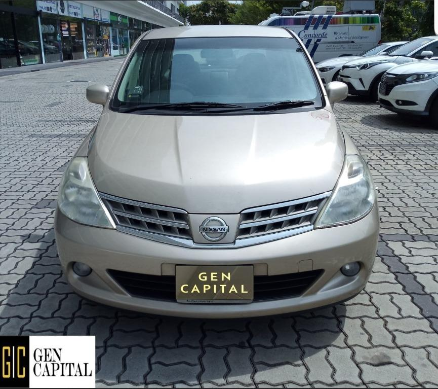 Nissan Latio Economical, high efficiency & reliability. Easy maintainance.