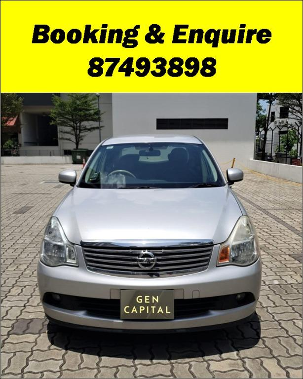 Nissan Sylphy  Lowest rental rates, fuel efficient & spacious