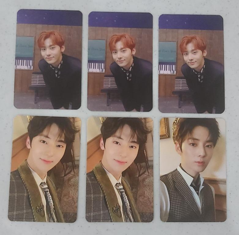 NU'EST / Wanna One Hwang Min Hyun (MinHyun) - Happily Ever After & The Table Photocard