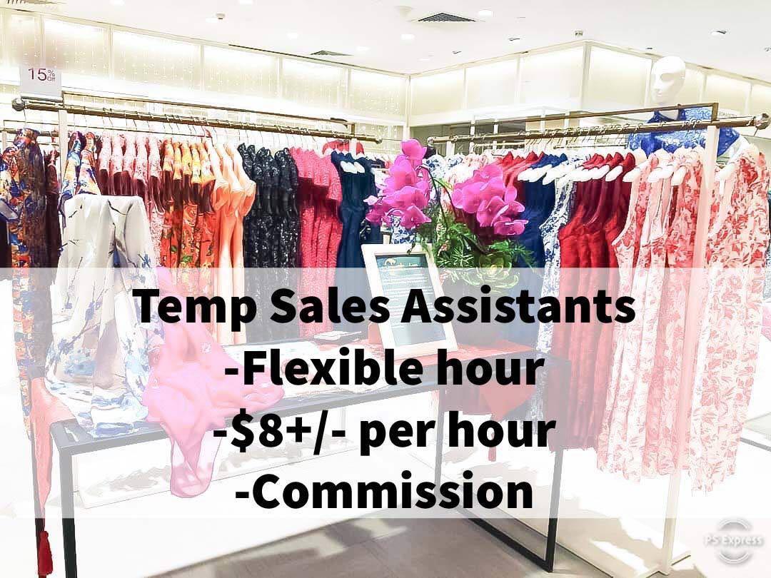 Retail Sales Assistants