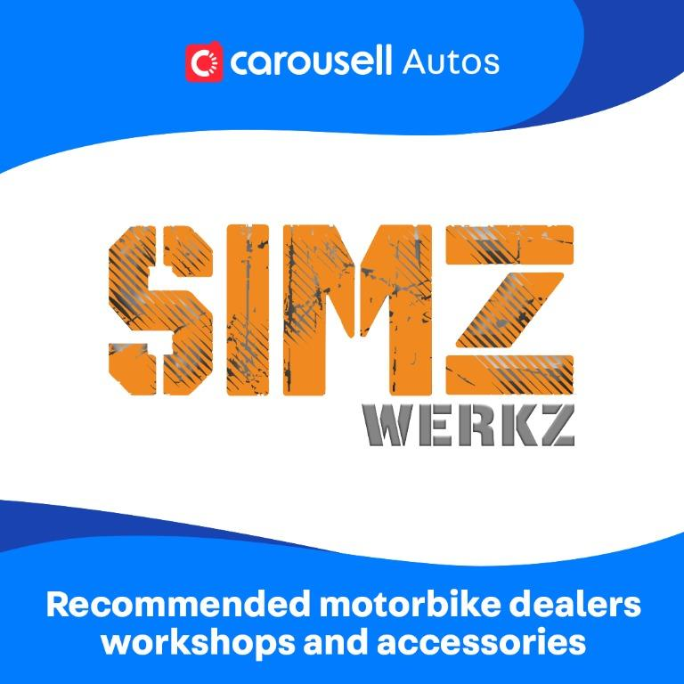 SIMZ Werkz - Recommended Motorbike Dealers, workshops and accessories