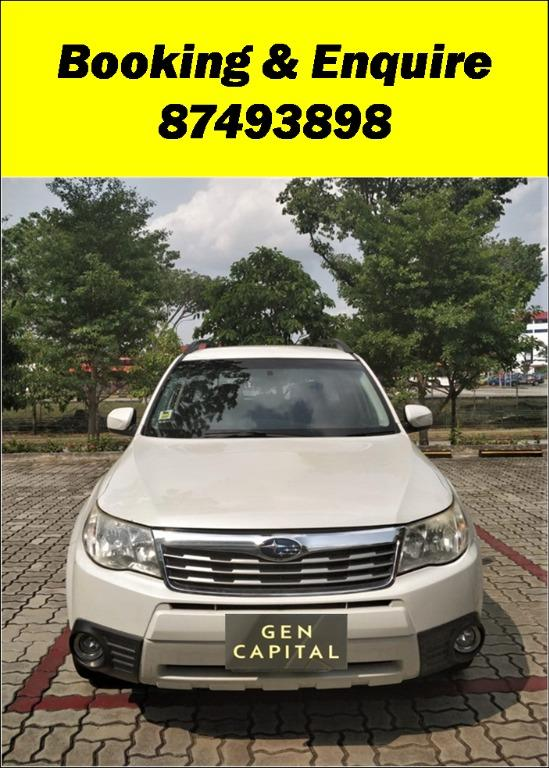 Subaru Forester Lowest rental rates guaranteed!!! Whatsapp now 87493898!!