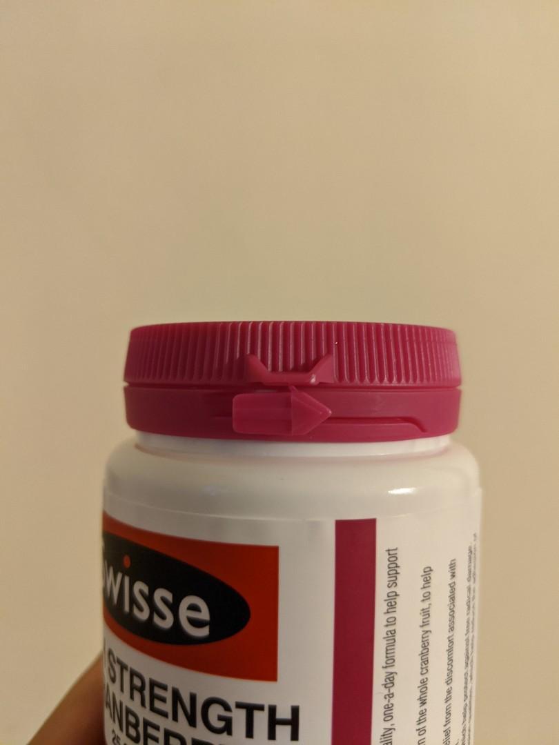Swisse Ultiboost Cranberry Supplements - Brand NEW
