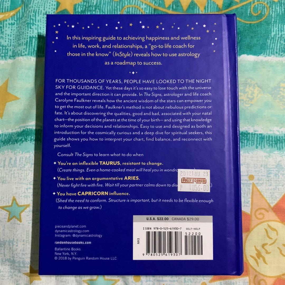 The Signs: A Guide to Contemporary Astrology by Carolyne Faulkner (Hardbound)