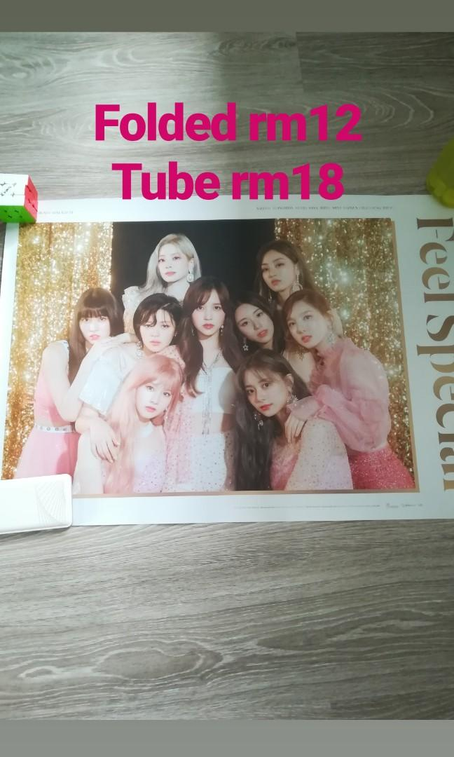 Twice Feel Special, Fancy, Twice lights, Yes or Yes photo cards,  albums, poster, CD, Lyrics  Book