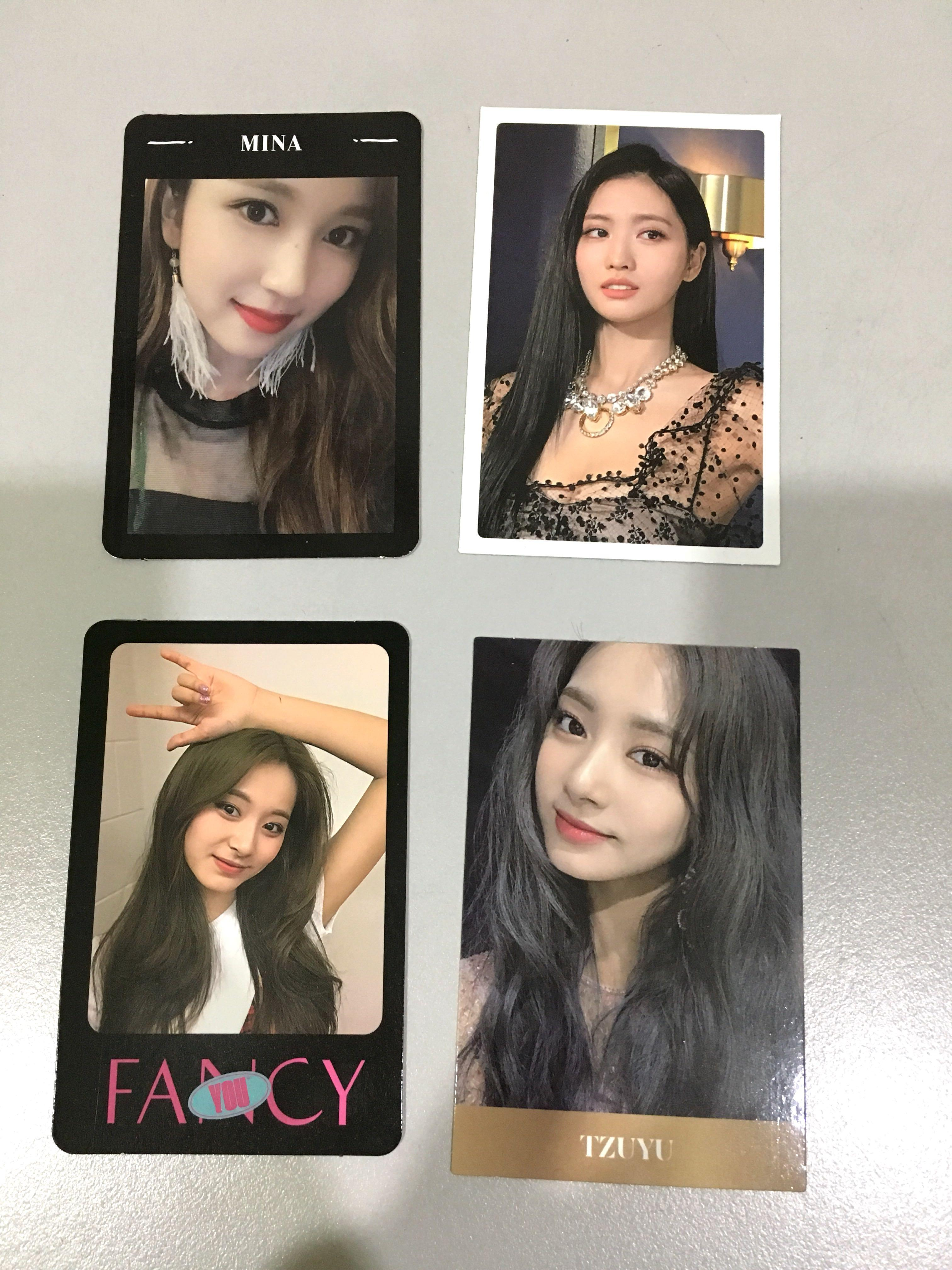 TWICE YES OR YES / FANCY YOU / FEEL SPECIAL PHOTOCARDS