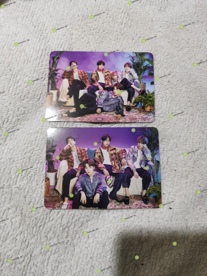 WTS/WTT - BTS OFFICIAL MINI PHOTOCARD JAPAN MUSTER