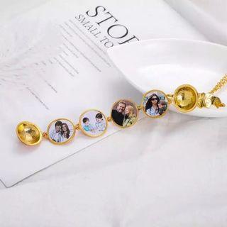 Multiple Photo Locket Pendant Necklace BRAND NEW