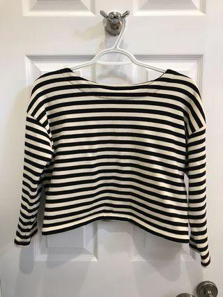 Forever 21 Cropped Mid-Sleeve