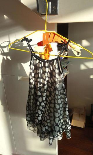 #出清2019!(good for kuds under 18kg, under 105cm), 肩帶可調整裙長/shoulder straps can be adjusted to lengthen the dress