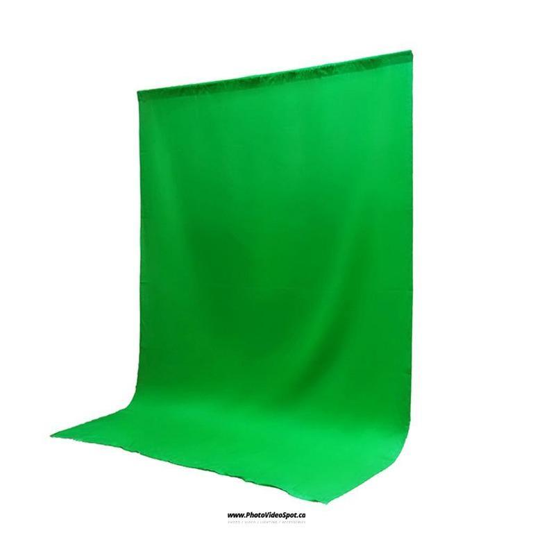 10x15 feet Photo Video Green Muslin Backdrop / PhotoVideoSpot . ca