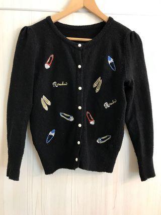 正韓-小奢華感 可當外套或上衣 細節細緻&保暖佳#出清2019