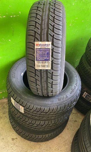 BN BF Goodrich 195/65/15 Tyres **Last 4 pieces