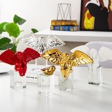 創意北歐家居樹脂胖天使擺件 臥室桌面裝飾品 軟裝家居工藝品99119