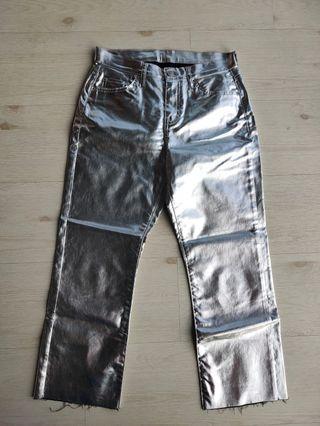 Topshop mettalic jeans (W26)