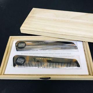 CLASSICO Acetate Combs 梳子 x 2 送原廠木盒