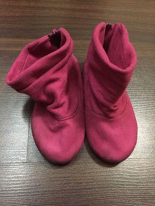 Sugar Kids Pink Boots