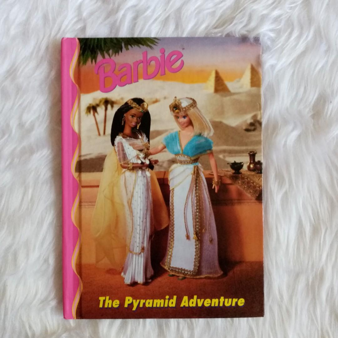 1998 Vintage Barbie Story Book Semi-illustrated glossy paper