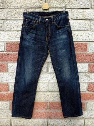 Levis 503 二手牛仔褲- 正品 日版-(LEVIS 00503-0296)-W32