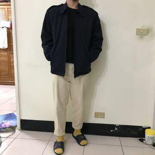 XL內刷毛海軍藍軍裝外套Navy military jacket(很保暖)