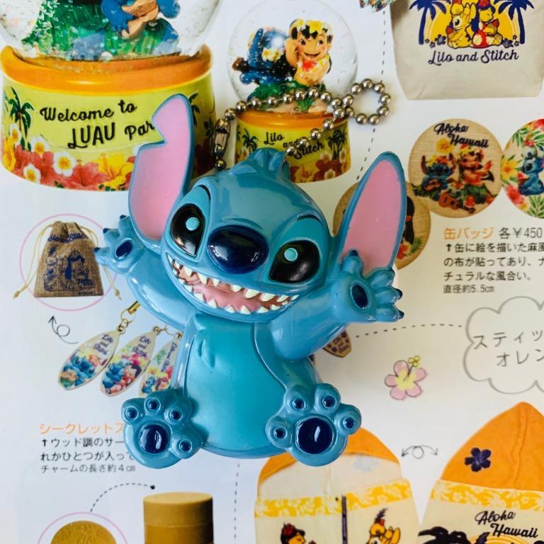 迪士尼 星際寶貝 史迪奇 發光 別針造型 鑰匙圈 Disney Stitch 飛船 史迪奇 吊飾