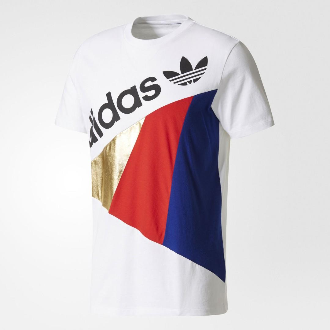 Adidas originals retro tshirt large size only with tags