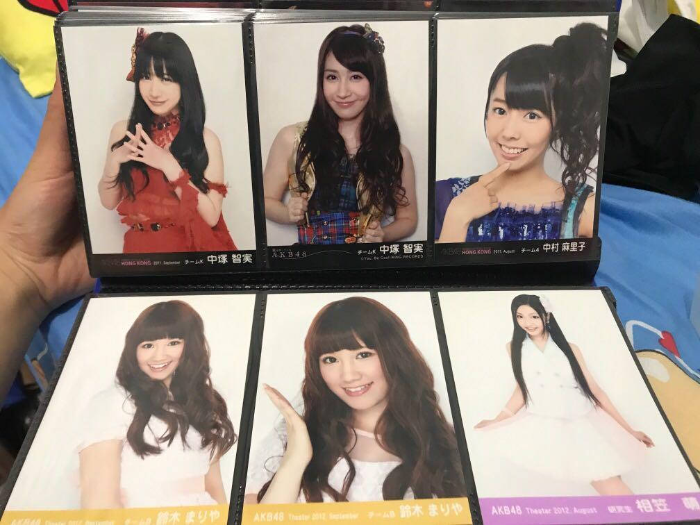 AKB48官方正版寫生
