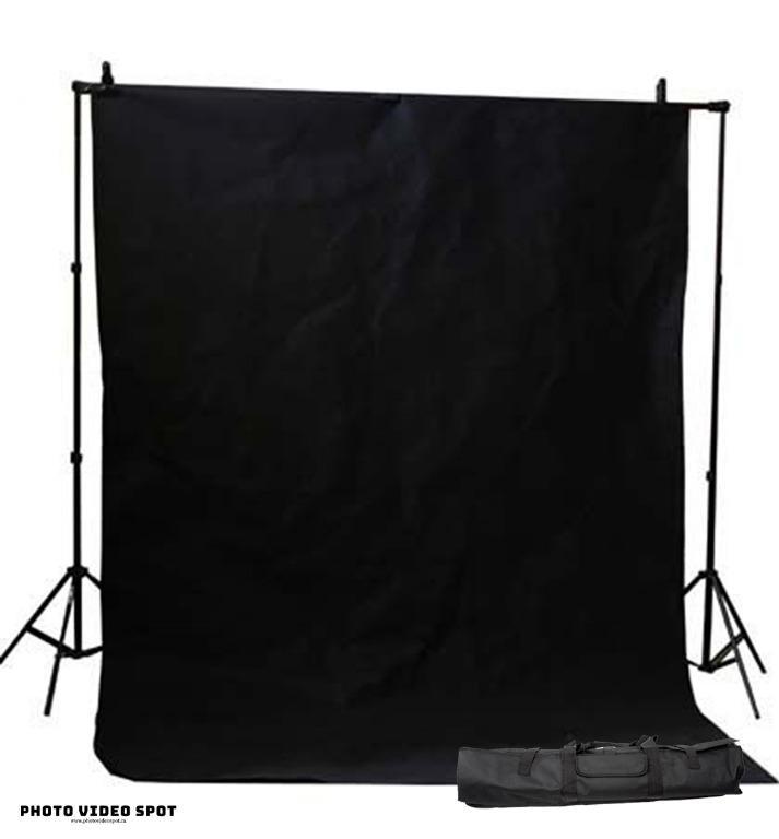 Black Photo Video Background Kit / PhotoVideoSpot . ca