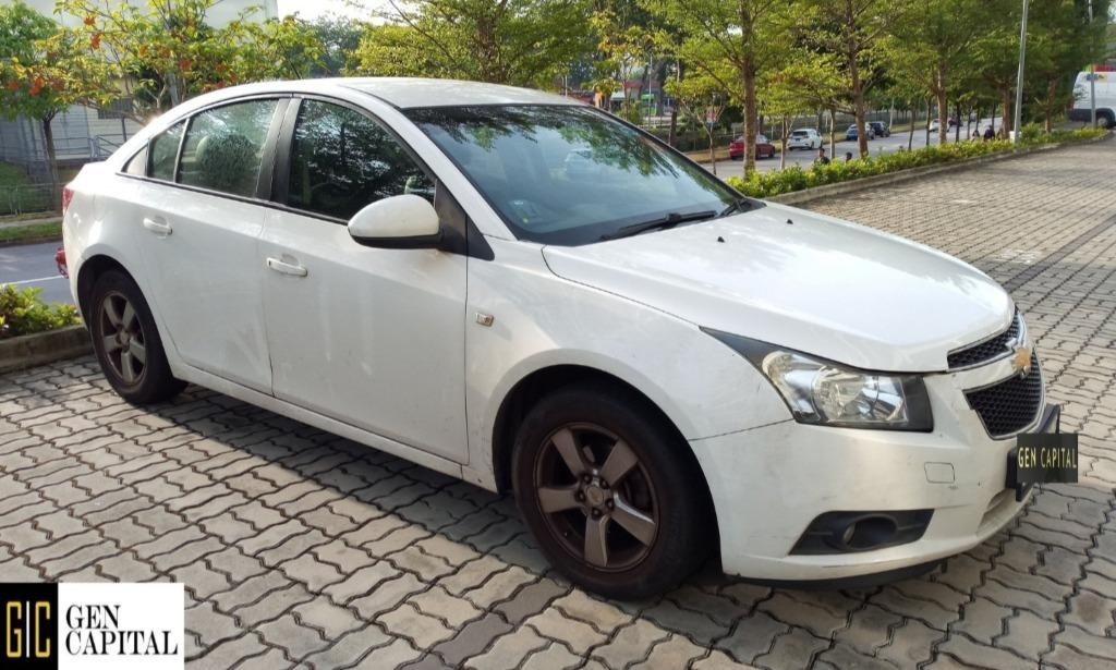 Chevrolet Cruze - Just down $500 and drive off! Whatsapp @87493898NOW!!!