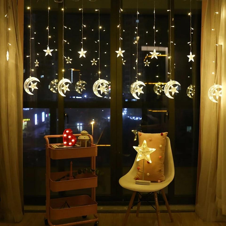 Curtain Fairy String Light LED!! Free shipping!! CHAT NOW