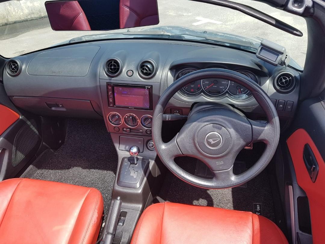 Daihatsu Copen 660A (CONVERTIBLE) Auto