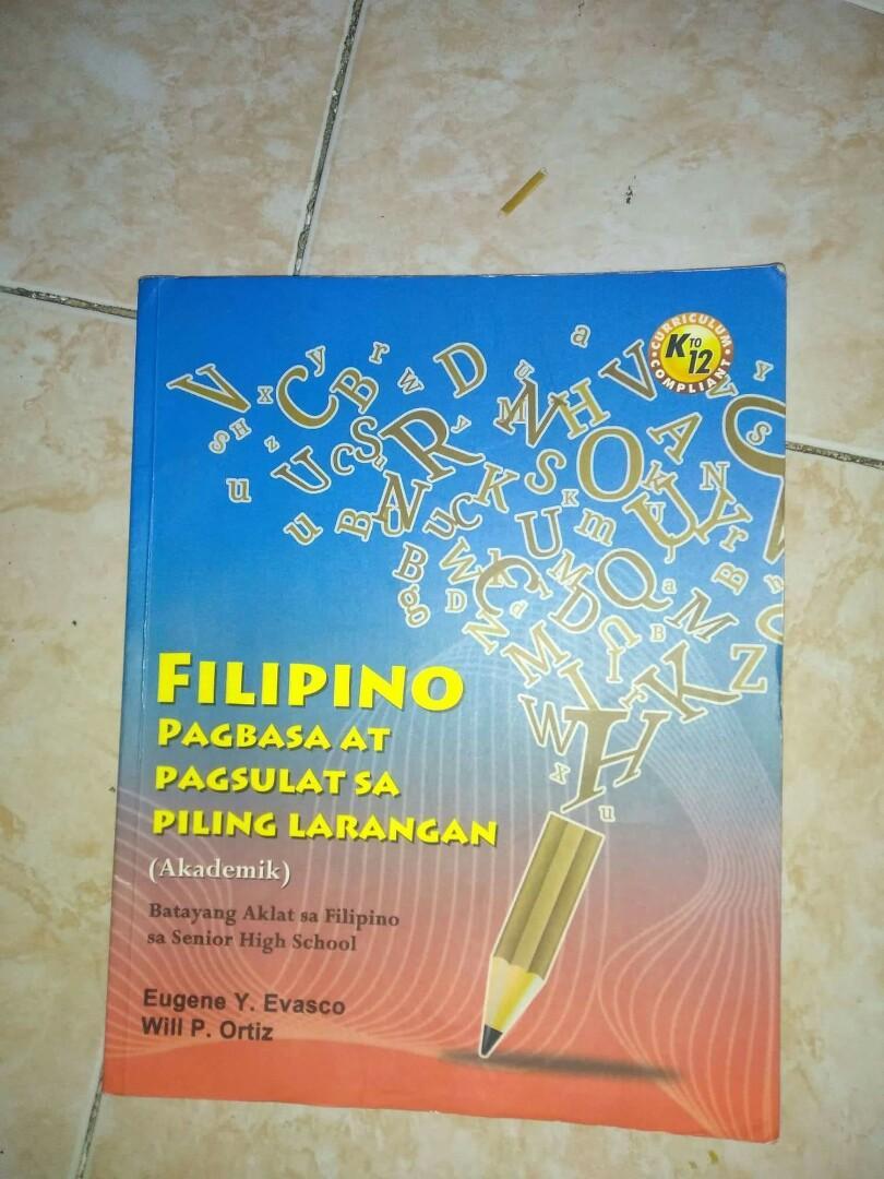 Filipino Pagbasa at Pagsulat sa Piling Larawan (akademik) Phoenix K-12
