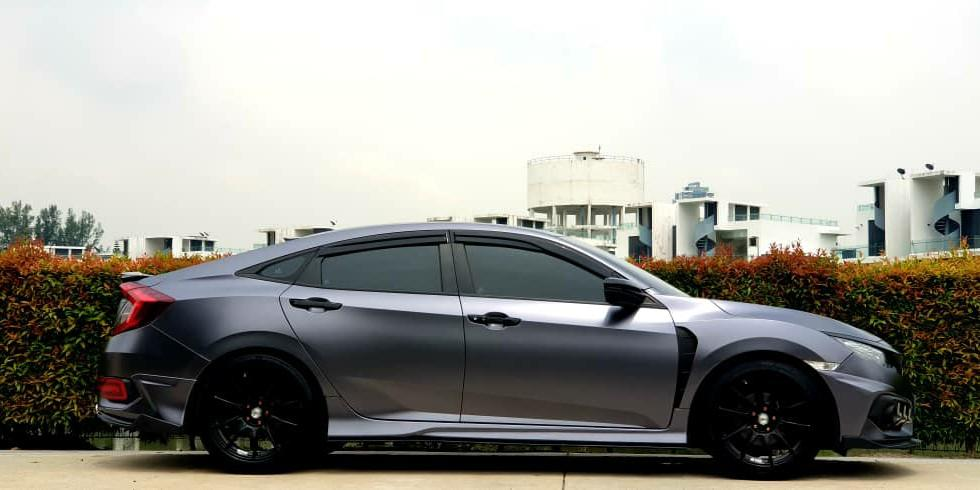 HONDA CIVIC FC 1.5 YEAR 2017 AVAILABLE FOR RENTAL  PERMONTH RM 4500 LONG TERMS BEST PRICE