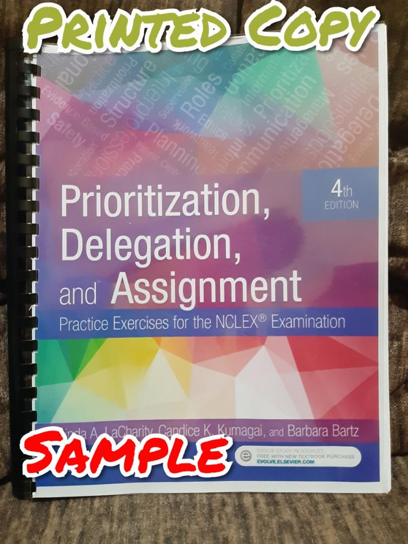 La Charity Prioritization, Delegation and Assignment 4th Edition