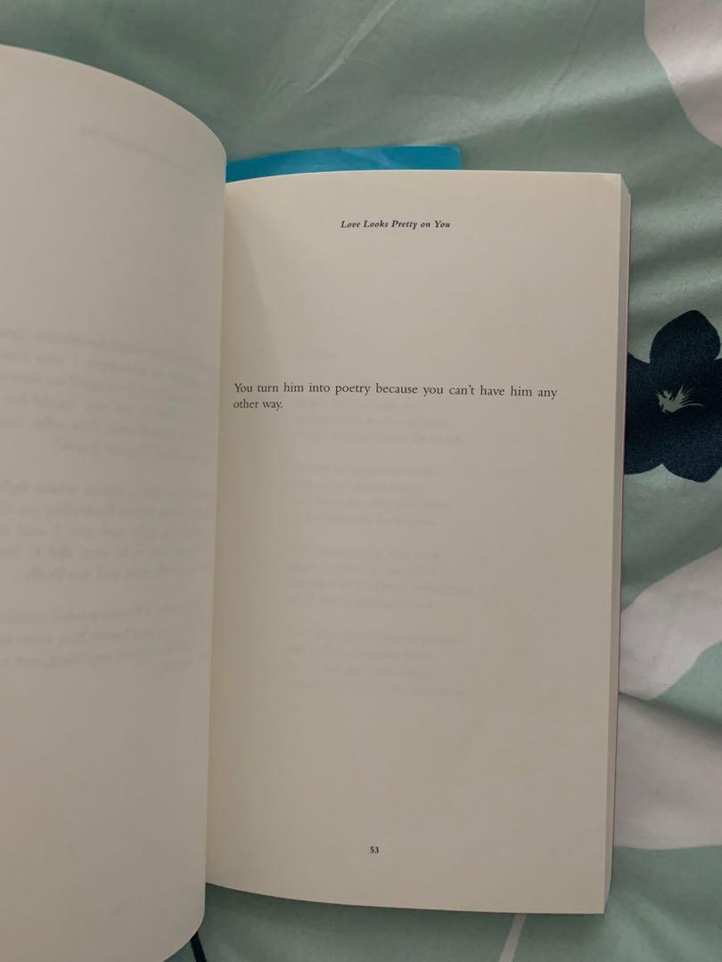 Love Looks Pretty On You by Lang Leav (Poetry Book)