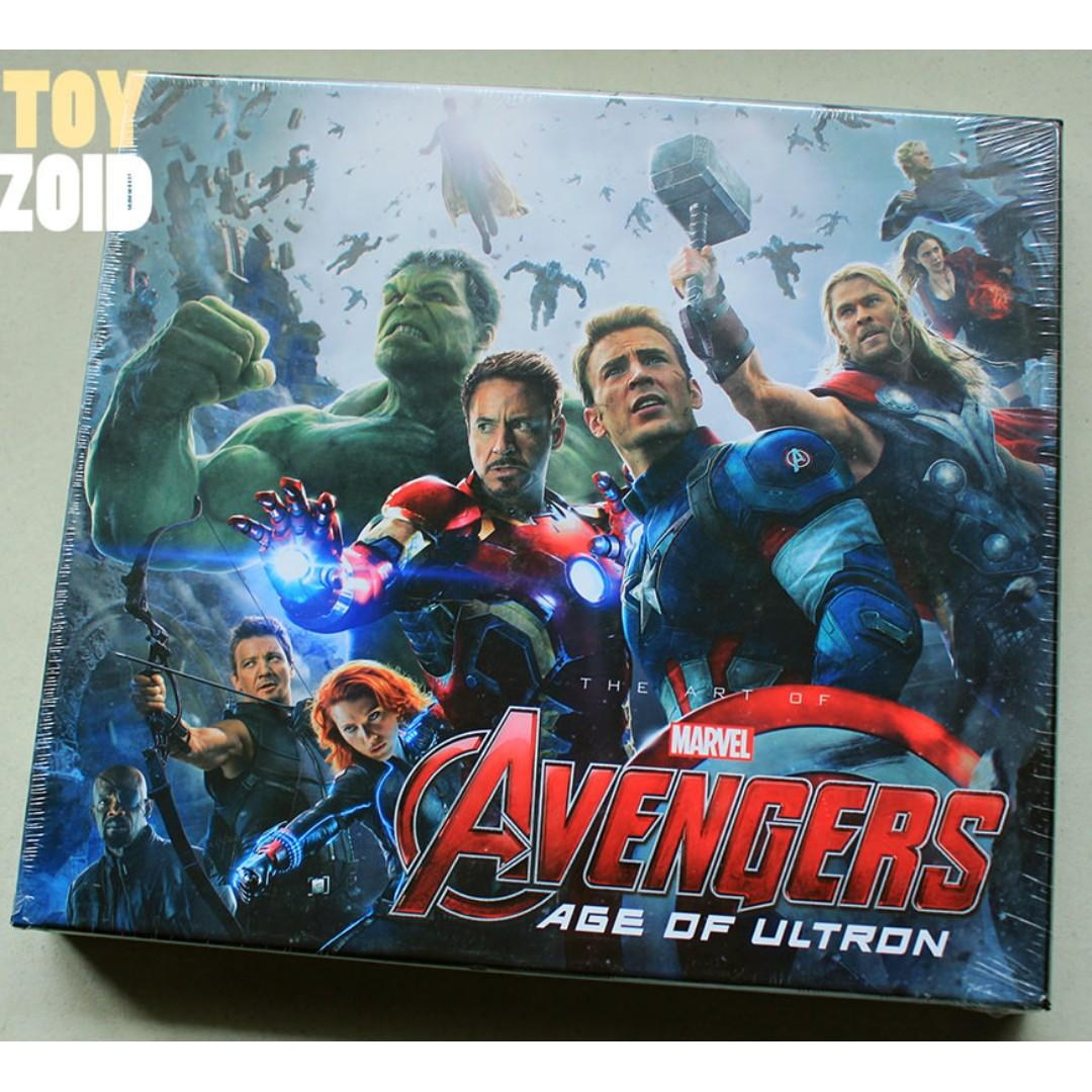 Marvel Studios The Art of The Avengers Age of Ultron Hardcover
