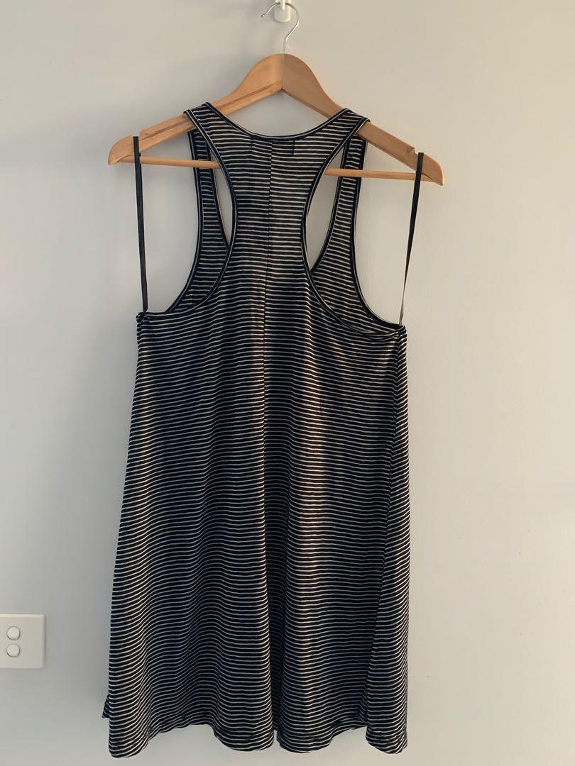 MINKPINK Neverland Striped racerback tank Dress size XS