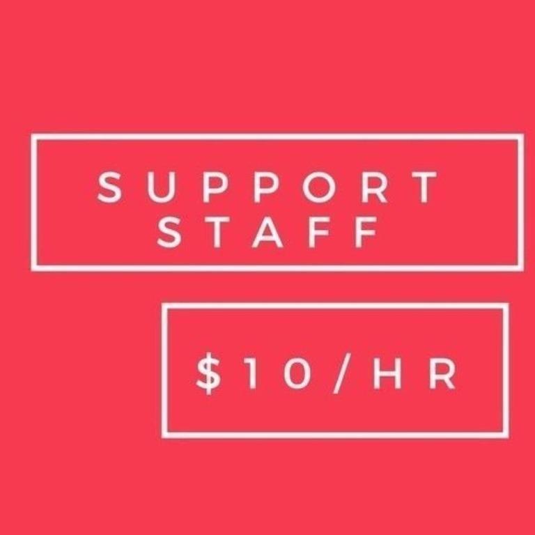 Part time bellman needed – Min $10/hr (3 months)