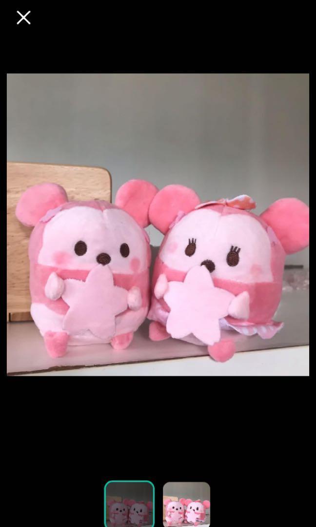 P.O. Limited Sakura Disney Tsum Tsum Ufufy soft toys stuffed toys kids