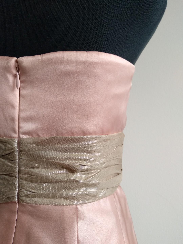 Rockchic Sydney pink silk party cocktail dress size 6