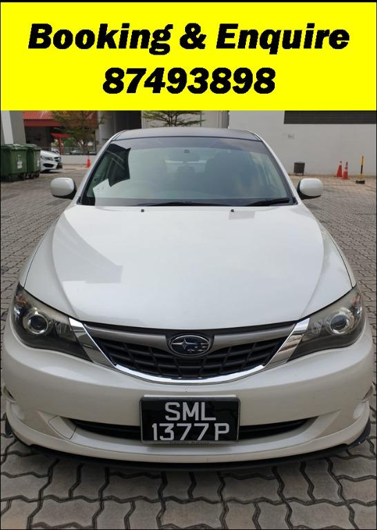 Subaru Impreza - Just down $500 and drive off! Whatsapp @87493898NOW!!!