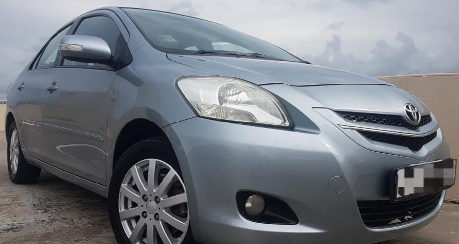 Toyota Vios 1.5G For Rent From 8 Jan Onwards!