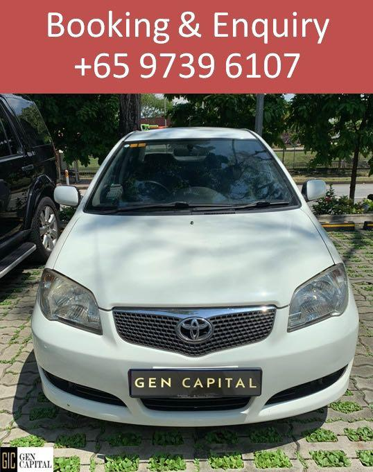 Toyota Vios - Contact Abel @97396107 ! Cheapest rental rates!