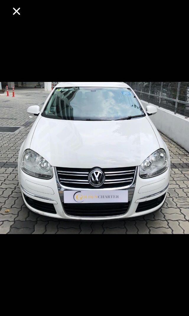 Volkswagen Jetta For PHV , Gojek, grab   Personal Rent