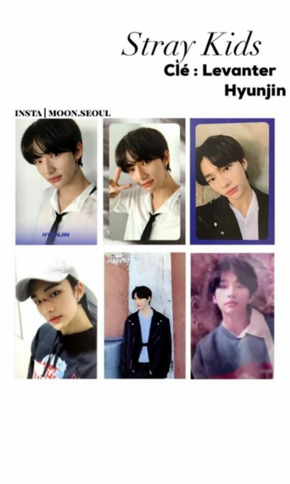 WTB Stray Kids Hyunjin Cle Levanter Album Photocards PC