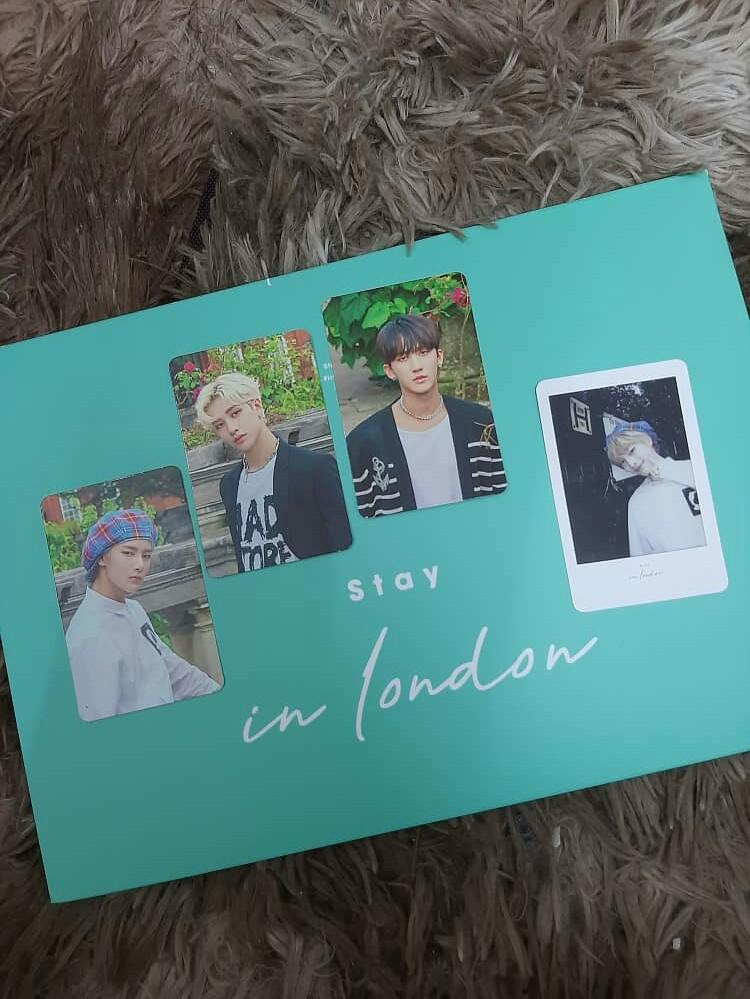 [WTS] LOOSE ITEM STRAY KIDS 1ST PHOTOBOOK STAY IN LONDON